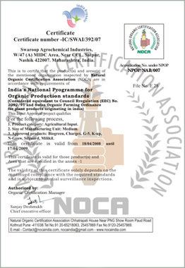 SWAROOP gets NOCA Certification